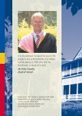 THE HEAD OF SCHOOL'S ANNUAL REPORT 2009 - St Hildas School - Page 2
