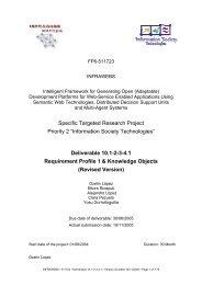 Deliverable 10.1-2-3-4.1 Requirement Profil - STI Innsbruck