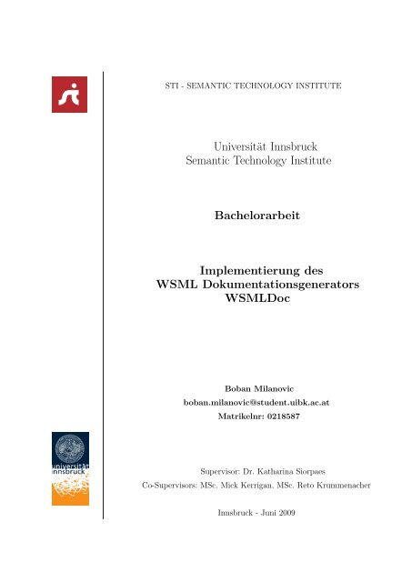 Bachelorarbeit Wsmldoc Sti Innsbruck