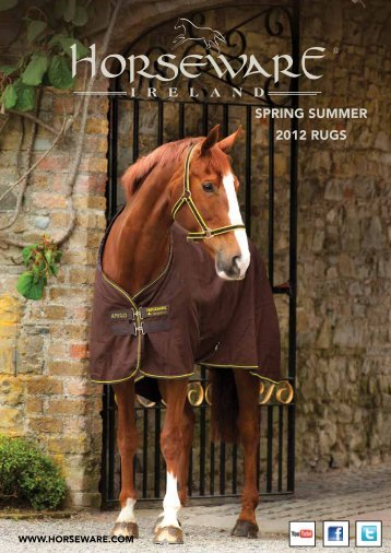 Spring Summer 2012 rugS - Horseware Ireland - stickartgallery.ch
