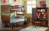 stickley starters mission