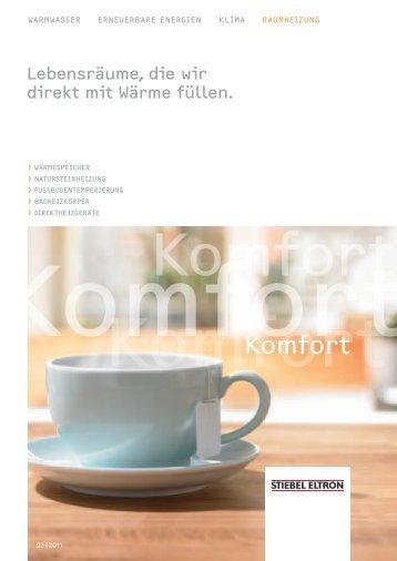 komfort - Stiebel Eltron