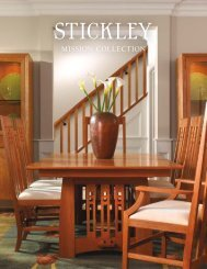 MISSION OAK & CHERRY COLLECTION - Stickley