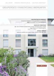 GROUPEMENTS D'HABITATIONS|BREMGARTEN - Stiebel Eltron