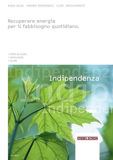 Indipendenza - Stiebel Eltron