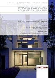 complesso residenziale a terrazzi | nussbaumen - Stiebel Eltron