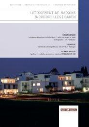 LOTISSEMENTDEMAISONS INDIvIDuELLES|BADEN - Stiebel Eltron