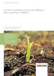La terre comme source de chaleur: des solutions ... - Stiebel Eltron