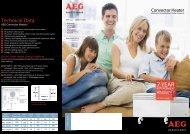 AEG Panel Heater Brochure