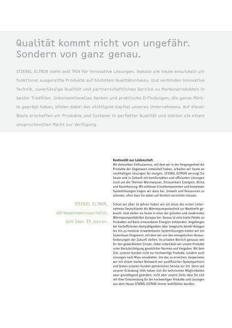 Stiebel Eltron Hauptprospekt