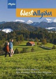 Imagebroschüre Westallgäu - Lindenberg