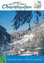 Freitag, 10. Dezember 2010 - Oberstaufen.info