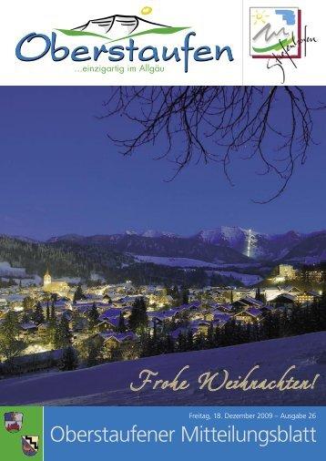 Frohe Weihnachten! - Stiefenhofen