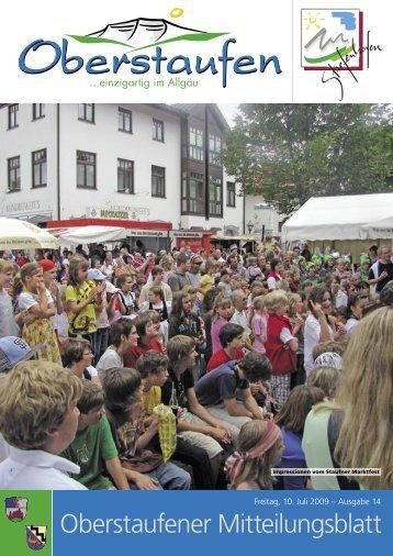 Oberstaufener Mitteilungsblatt - Oberstaufen.info