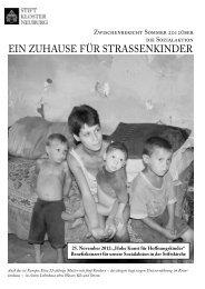 Sozialbericht 2012 (pdf, 1.22 MB) - Stift Klosterneuburg