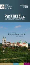 Jubiläumsjahr - Stift Klosterneuburg