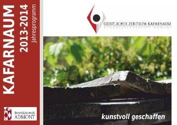 Jahresprogramm 2013-2014 - Stift Admont