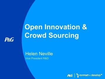 Open Innovation & Crowd Sourcing