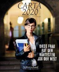 Carta 2020 - Stifterverband für die Deutsche Wissenschaft