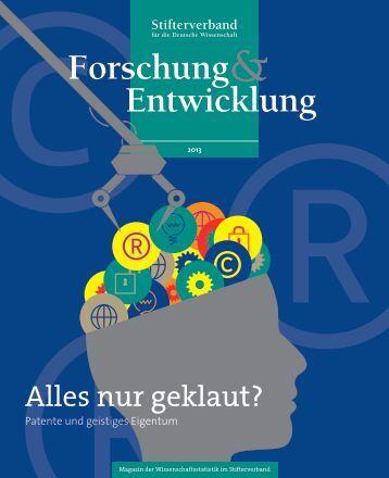 Alles nur geklaut? - Stifterverband für die Deutsche Wissenschaft