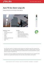 Aura T5 Eco Saver Long Life - Aura Light