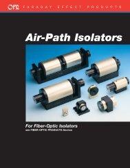 Isolators - Optics for Research