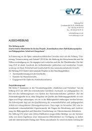 Ausschreibung freie/r Mitarbeiter/-in (pdf) - Stiftung