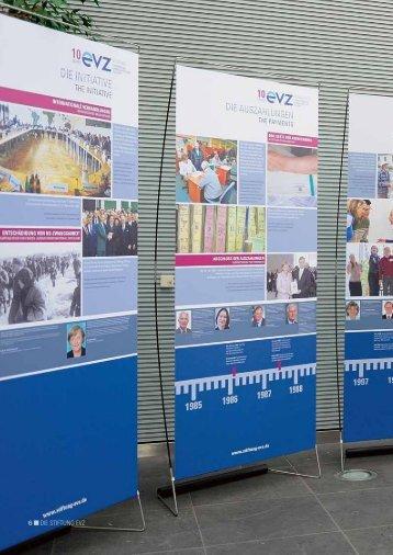 """Kapitel 1: Die Stiftung EVZ - Stiftung """"Erinnerung, Verantwortung ..."""