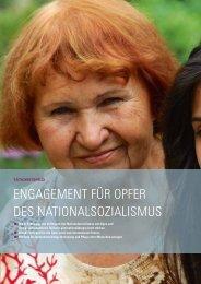 engagement für opfer des nationalsozialismus - Stiftung