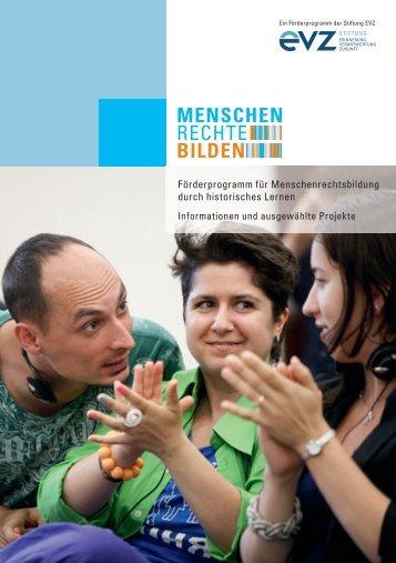 """Menschen Rechte Bilden - Stiftung """"Erinnerung, Verantwortung und ..."""