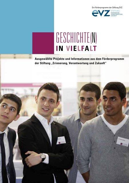 """Informationsbroschüre als PDF - Stiftung """"Erinnerung ..."""