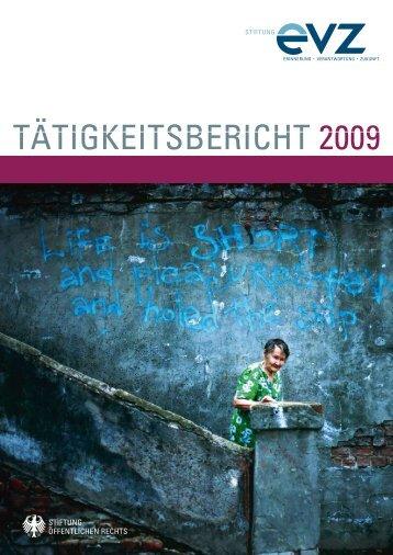 """TÄTIGKEITSBERICHT 2009 - Stiftung """"Erinnerung, Verantwortung ..."""
