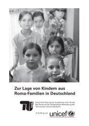 Zur Lage von Kindern aus Roma-Familien in Deutschland - Stiftung ...