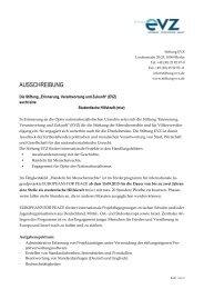 Ausschreibung studentische Hilfskraft (pdf) - Stiftung