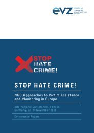 Stop Hate Crime! - Stiftung