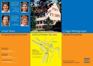 WG Niederlinxweiler - Stiftung Hospital