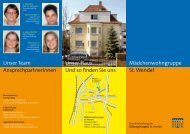 Flyer MWG St. Wendel - Stiftung Hospital