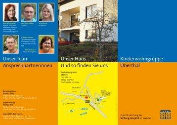 Kinderwohngruppe Oberthal Unser Haus Und so ... - Stiftung Hospital