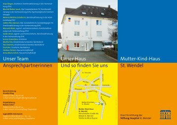 Flyer Mutter-Kind-Haus - Stiftung Hospital