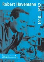 Die Ausstellungstafeln als PDF-Datei - Robert Havemann Gesellschaft