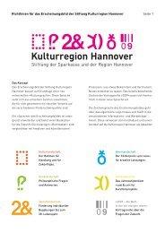 Richtlinien für das Erscheinungsbild der Stiftung Kulturregion ...