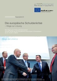 Tagungsbericht - Stiftung Marktwirtschaft