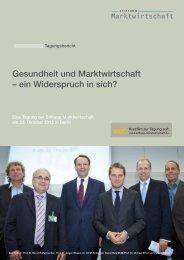 Gesundheit und Marktwirtschaft – ein Widerspruch in sich? web