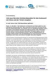 Presseinfo Mai 2012 - Stiftung Mercator