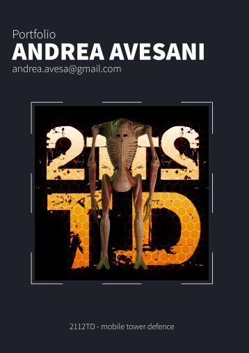 ANDREA AVESANI - Portfolio 2014