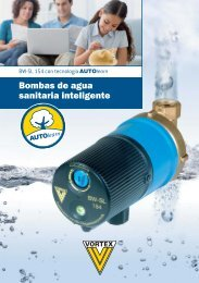 Bombas de agua sanitaria inteligente - Deutsche Vortex Gmbh & Co ...