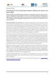Bildung durch Sprache und - Stiftung Mercator