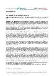 Presseinfo Juni 13:NRW beliebtes Ziel - Stiftung Mercator