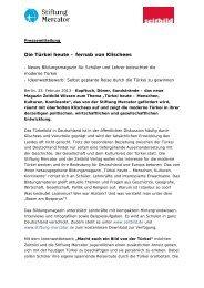 Die Türkei heute – fernab von Klischees - Stiftung Mercator
