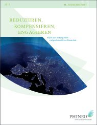 Reduzieren, Kompensieren, Engagieren - Report ... - Stiftung Mercator